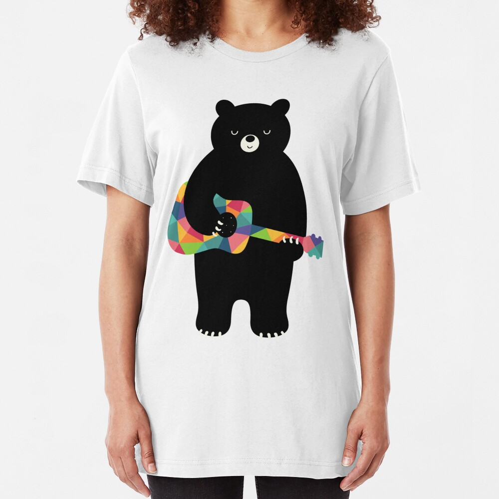 Happy Song Slim Fit T-Shirt