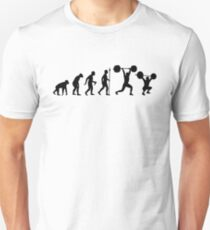 Evolution - Olympic Weightlifting Unisex T-Shirt