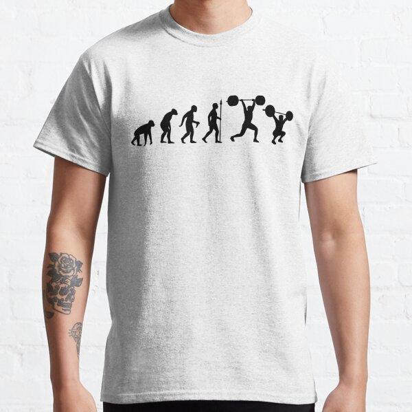 Evolution - olympisches Gewichtheben Classic T-Shirt