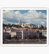 Budapest danube Sticker