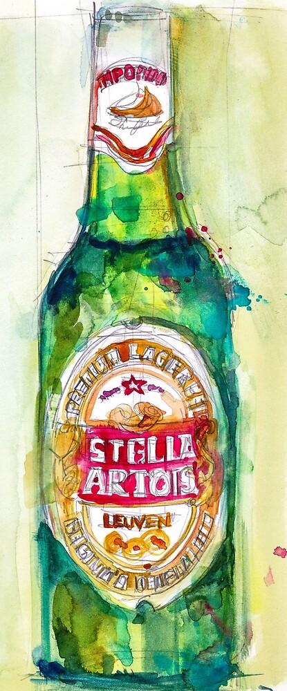 Stella Artois, Premium Beer by Dorrie  Rifkin