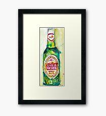 Stella Artois, Premium Beer Framed Print