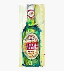 Stella Artois, Premium Beer Photographic Print