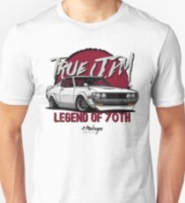 True JDM. Toyota Celica 70-77 (white) Unisex T-Shirt