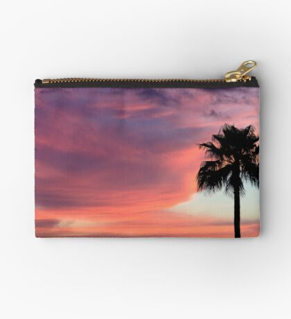 Sunset in Los Gigantes, Tenerife Zipper Pouch