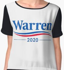 ELIZABETH WARREN 2020 Chiffon Top