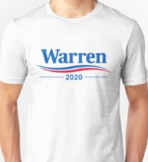 ELIZABETH WARREN 2020 Slim Fit T-Shirt