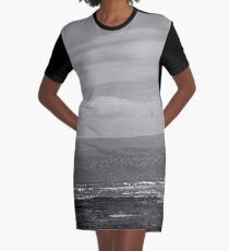 Landscape Graphic T-Shirt Dress
