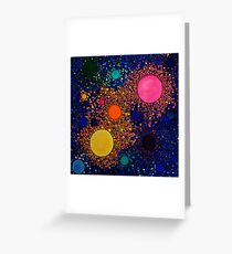 Genesis, abstract art Greeting Card