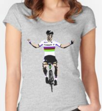 Peter Sagan Women's Fitted Scoop T-Shirt