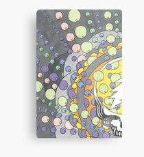 SYF Bubbles Metal Print