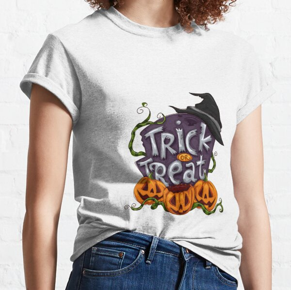 Trick-or-treating Halloween Classic T-Shirt