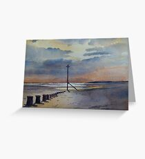 Seascape by Nick Clark Greeting Card