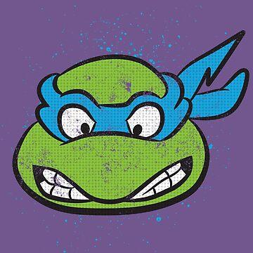 TMNT Leonardo by grafoxdesigns