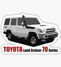 TOYOTA Land Cruiser 70 Series HZJ76 Sticker