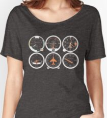 Basic Six Flight Instruments Women's Relaxed Fit T-Shirt