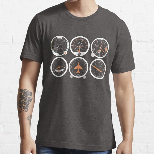 Basic Six Flight Instruments Essential T-Shirt