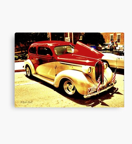 """1938 Plymouth""... prints and products Canvas Print"