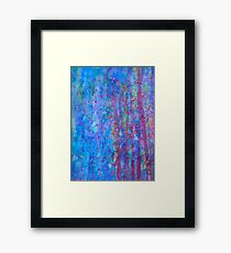 Blue evening Framed Print