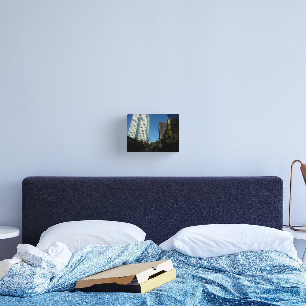 Engulfed in the Scene Canvas Print