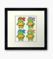 Turts and Emotes Framed Print