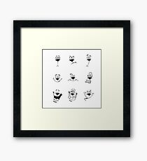 Expression - Dog Framed Print