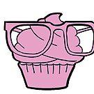 Awkward cupcake by artbycaf