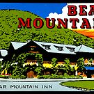 Bear Mountain New York Vintage Travel Decal by hilda74