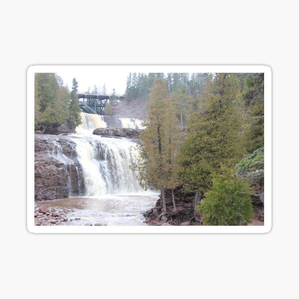 Middle & Lower Gooseberry Falls Sticker