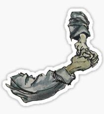 Clasped Hands Sticker
