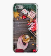 Christmas decoration cookies  iPhone Case/Skin