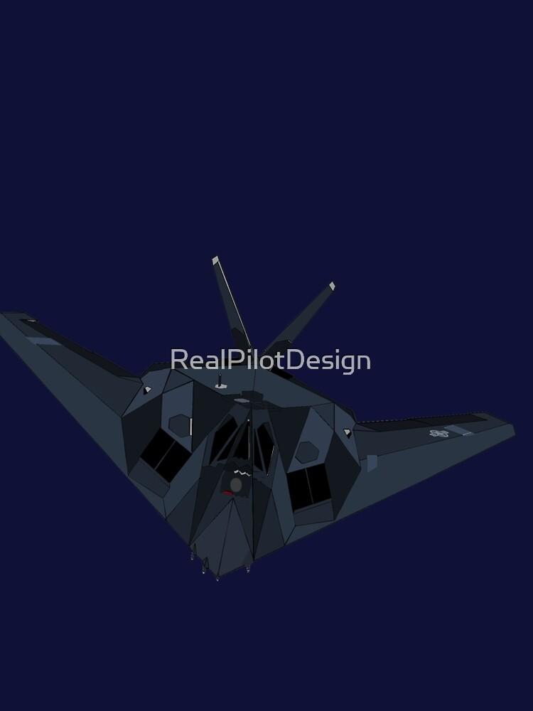 Lockheed Martin F-117 Stealth Fighter by RealPilotDesign