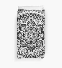 Yin Yang Mandala Pattern Duvet Cover