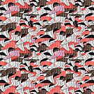 Abstract vector seamless pattern by Tanor