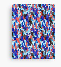 Abstract vector seamless pattern Canvas Print
