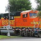 BNSF by Chet  King