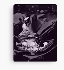 Suicide is Painless Canvas Print