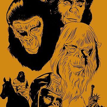 Ape Planet! by brettbakker
