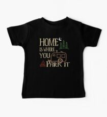 RV Camping Home Baby Tee