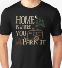 RV Camping Home Unisex T-Shirt