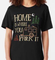 Wohnmobil Camping Slim Fit T-Shirt