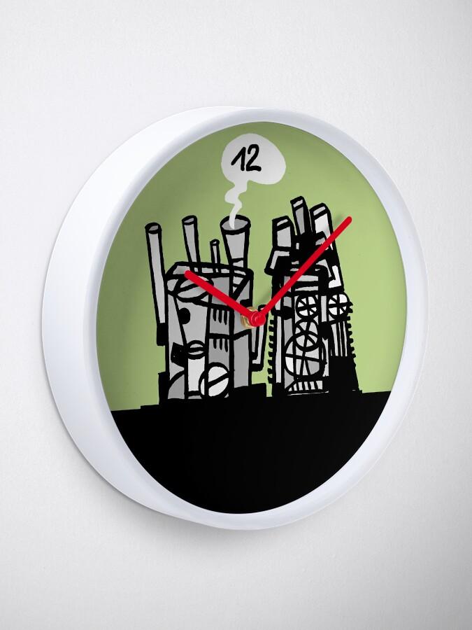 Alternate view of think tank Clock