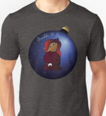 Bauble and Squeak - Christmas Goth Mouse Unisex T-Shirt