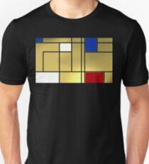 Tribute composition to Piet Mondrian T-Shirt