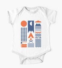 Vereinfachen Baby Body Kurzarm