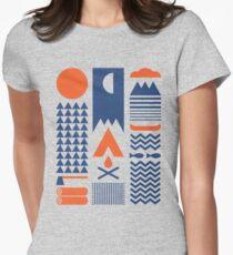 Camiseta entallada para mujer Simplificar