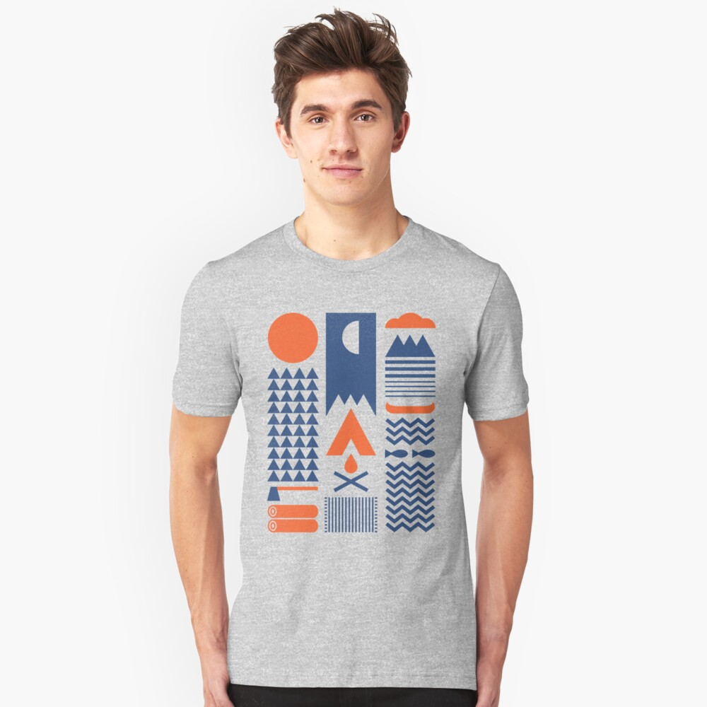 Camiseta unisexSimplificar Delante