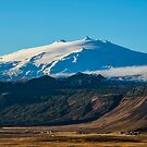 Snaefellsjokull volcano 2 Iceland by Chris Thaxter