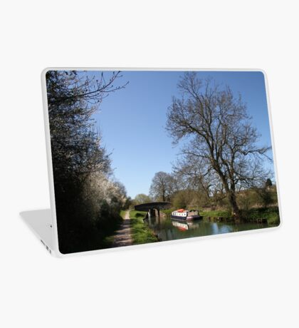 Bridge Near Bedwin - Kennet and Avon Canal Laptop Skin