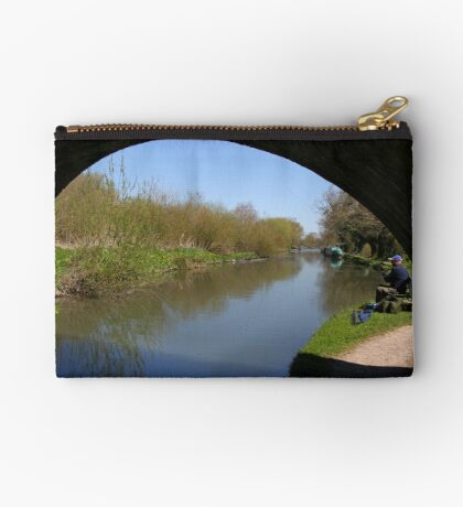 Quiet Fishing Spot - Kennet and Avon Canal Studio Pouch